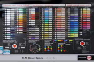 BODYSHOP荒井のR-M塗料一覧表